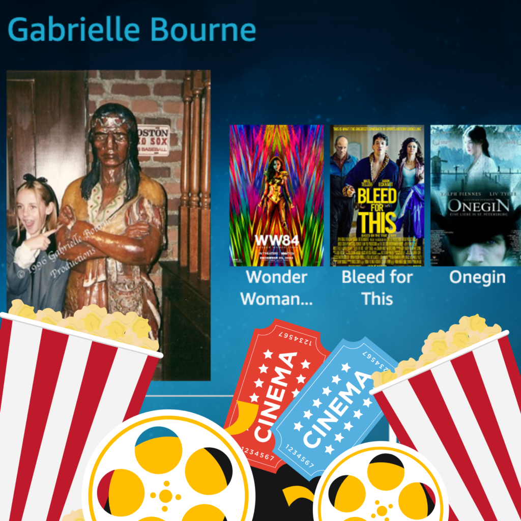 Gabrielle Bourne IMDb logo card