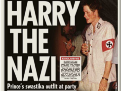 Prince Harry's swastika outfit at party