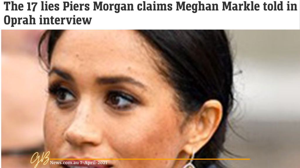 Rich results on Google's SERP when searching for 'Meghan Markle'